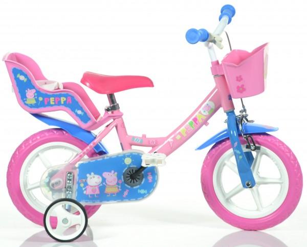 Dívčí dětský kolo se sedačkou pro panenku