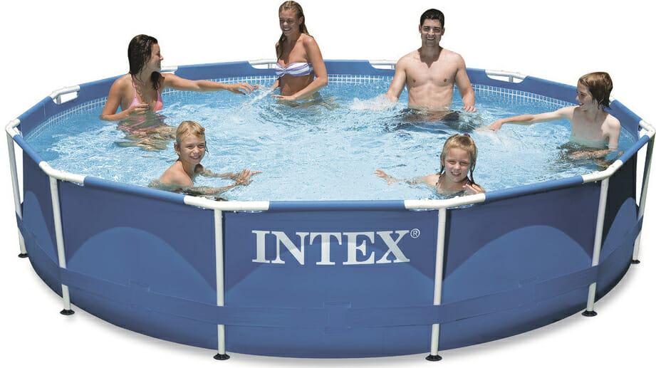 Intex bazén na zahradu