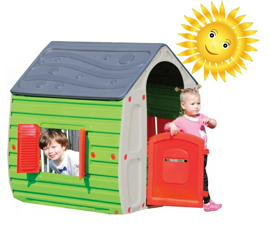 Magický zahradní domeček pro děti
