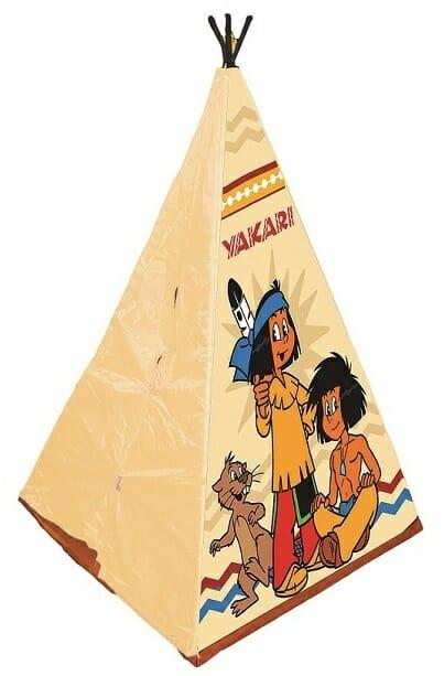 Indiánský stan na hraní
