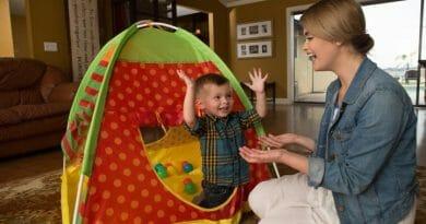 Dětský stan na hraní