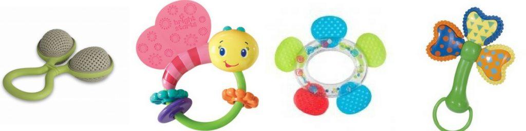 Chrastítka hračky pro miminka