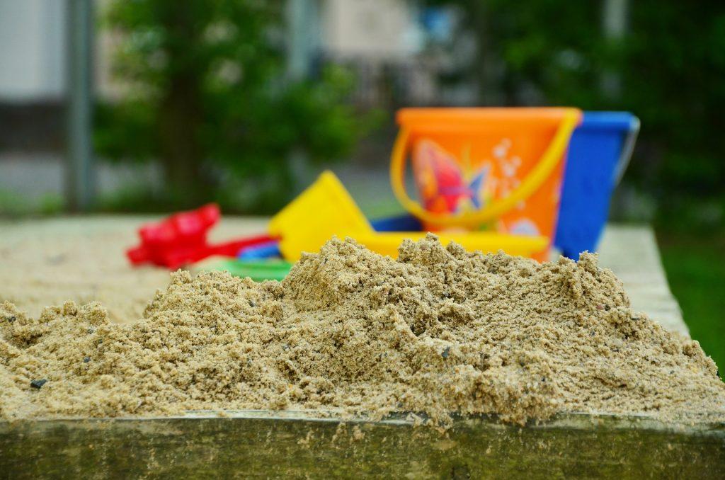 Hračky na zahradu pískoviště