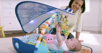 Hrací deka pro děti