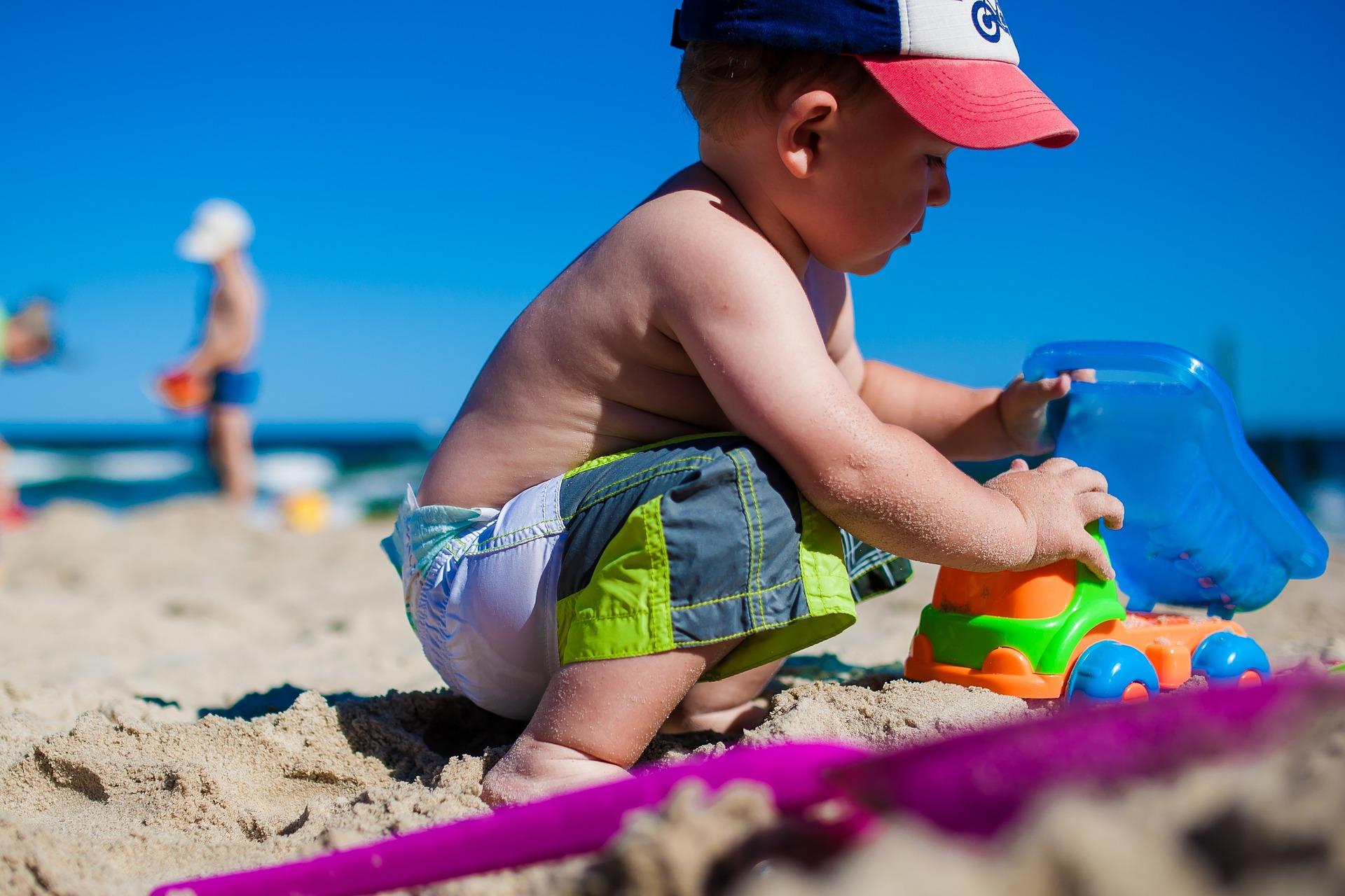 Hračky do písku i k vodě