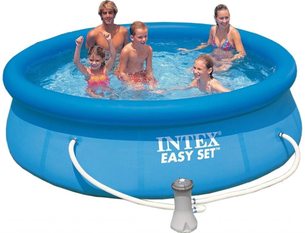 Nafukovací bazén Intex pro celou rodinu