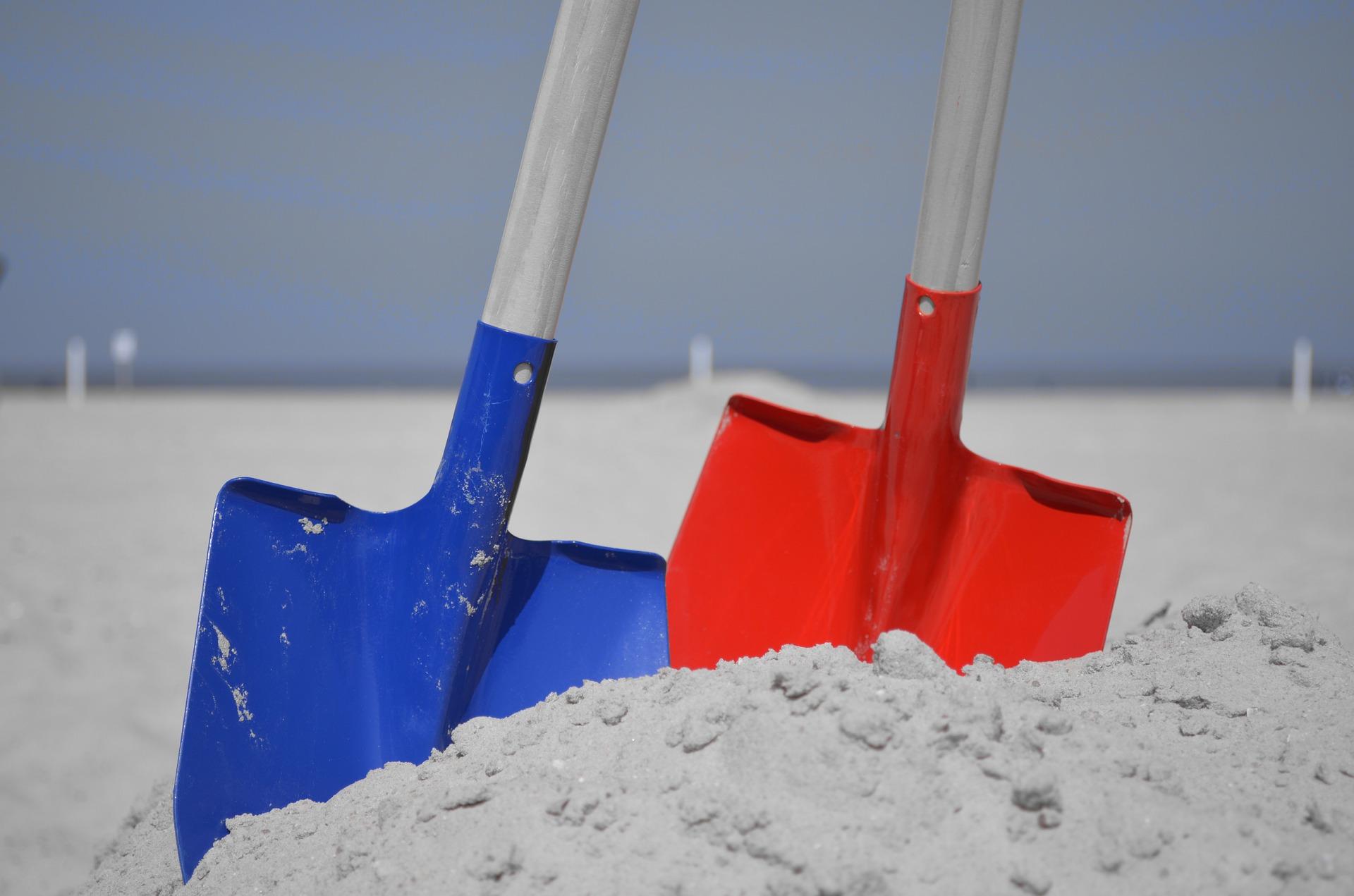 Lopatky hračky do písku