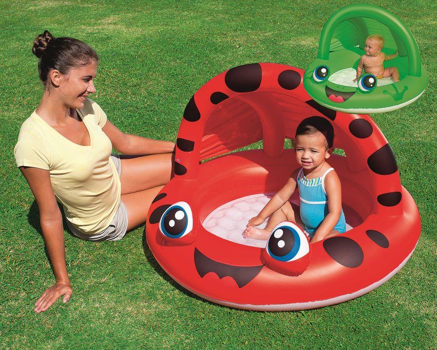 Nafukovací bazén pro děti s tínidlem