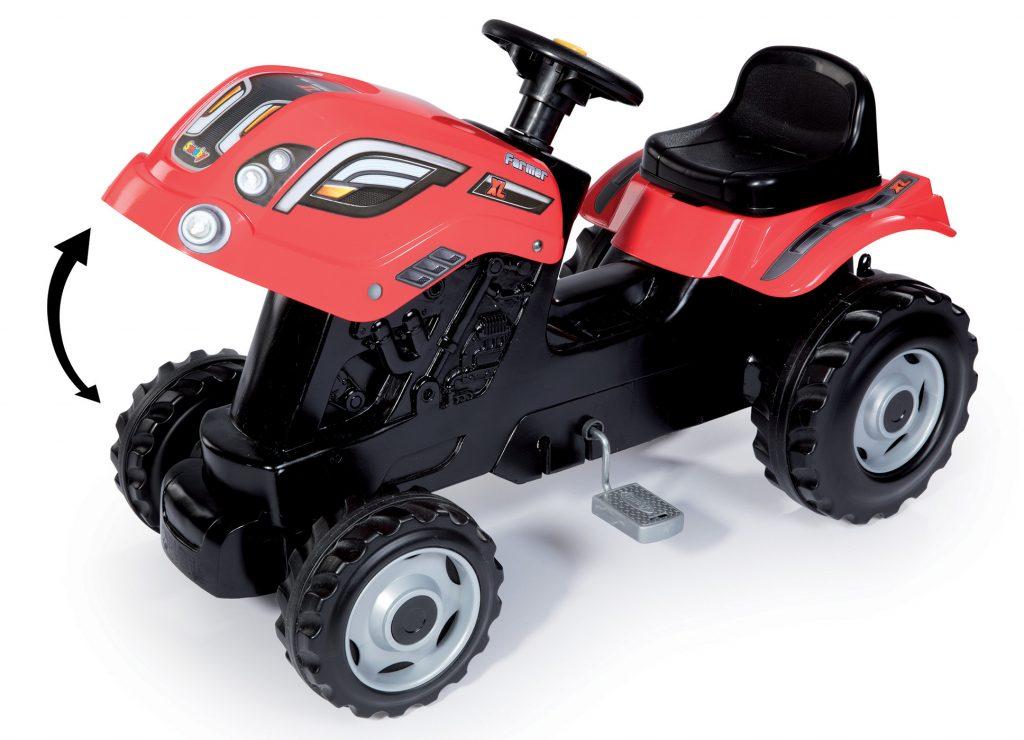 Slapací traktor pro děti smoby
