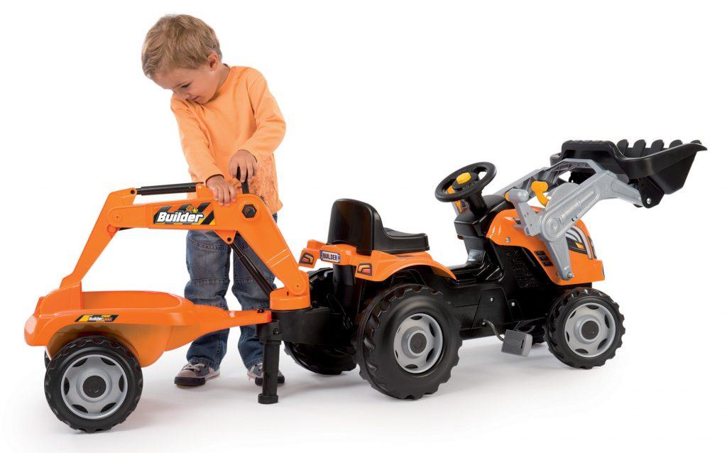 Šlapací dětský traktor Smoby