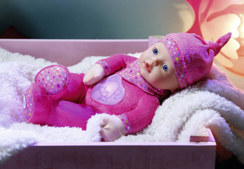 Svítíci panenka Baby Born