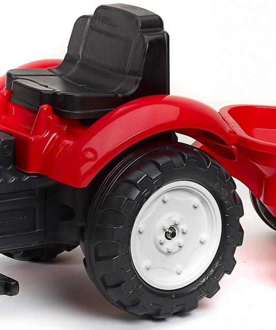 Šlapací traktor pro deti Falk s vlečkou