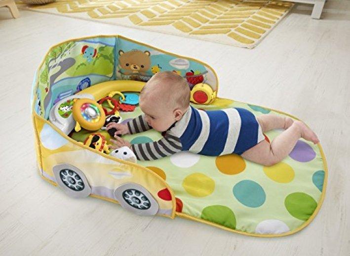 Dárek pro novorozence hrací deka