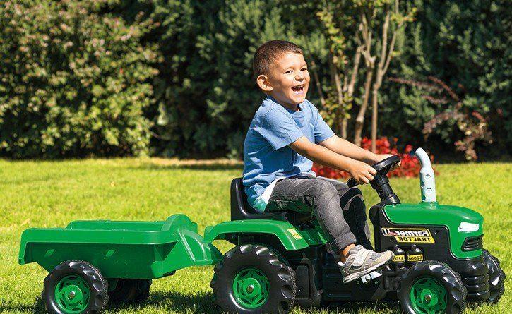 Jak vybrat traktor pro děti