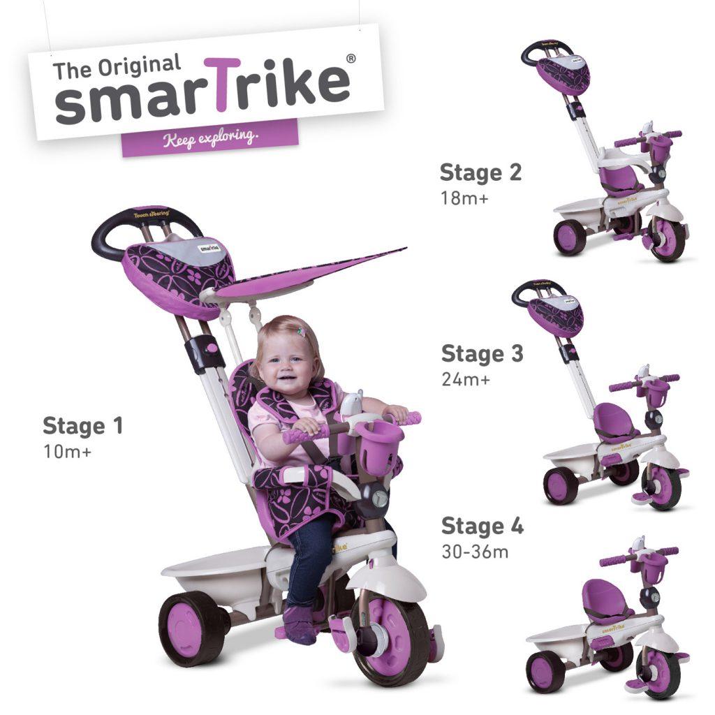 Dream Touch tříkolky smarTrike pro děti