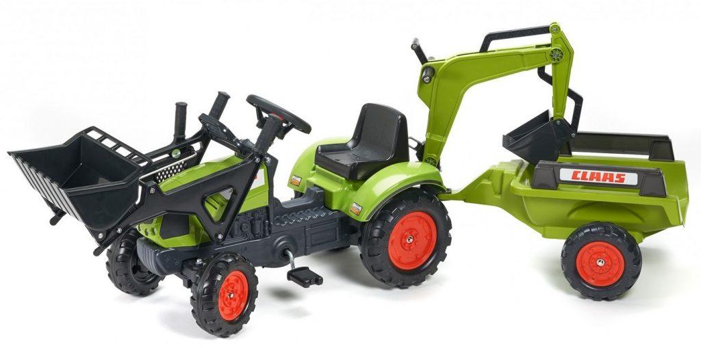 Falk traktor pro děti s bagrem a lžící