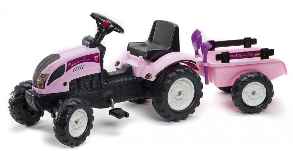 Dívčí traktor šlapací Falk