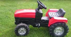 Recenze na traktor pro děti Falk Garden