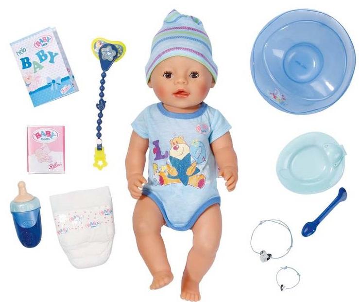Interaktivní panenka Baby Born chlapeček