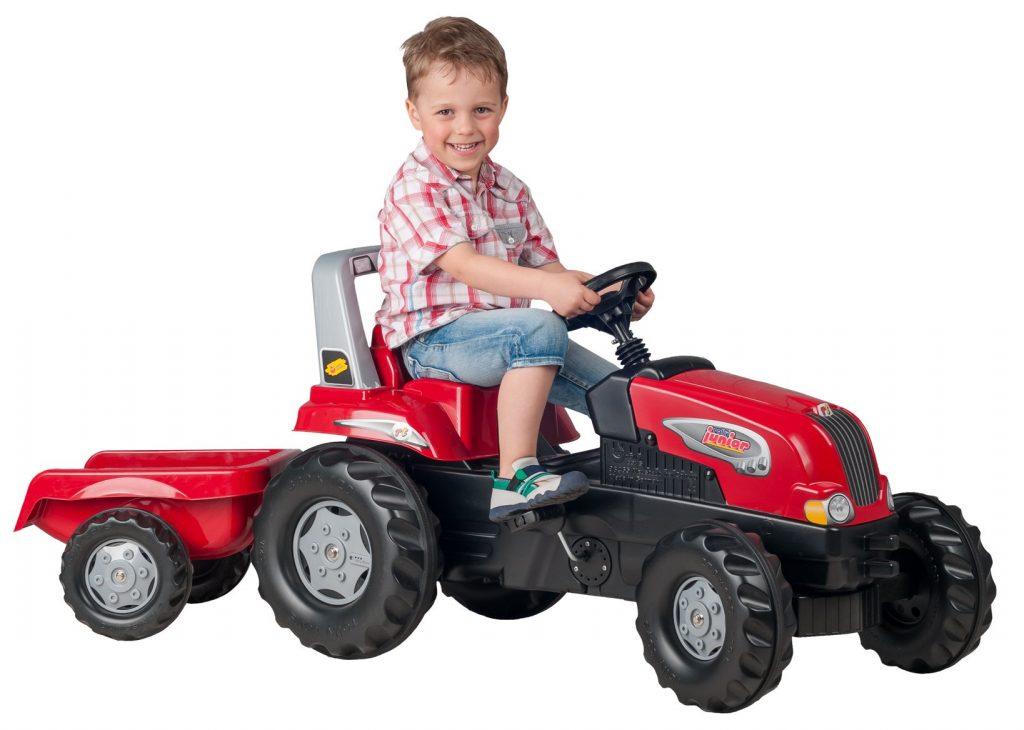 Rolly Toys šlapací traktor pro děti s vlečkou