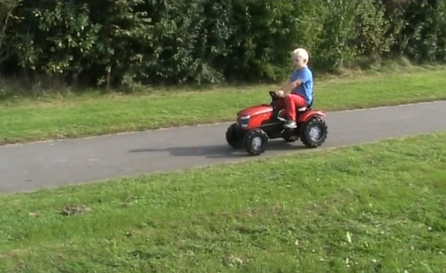 Recenze na traktor pro děti Rolly Toys