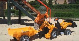 Recenze traktor pro děti Smoby MAx