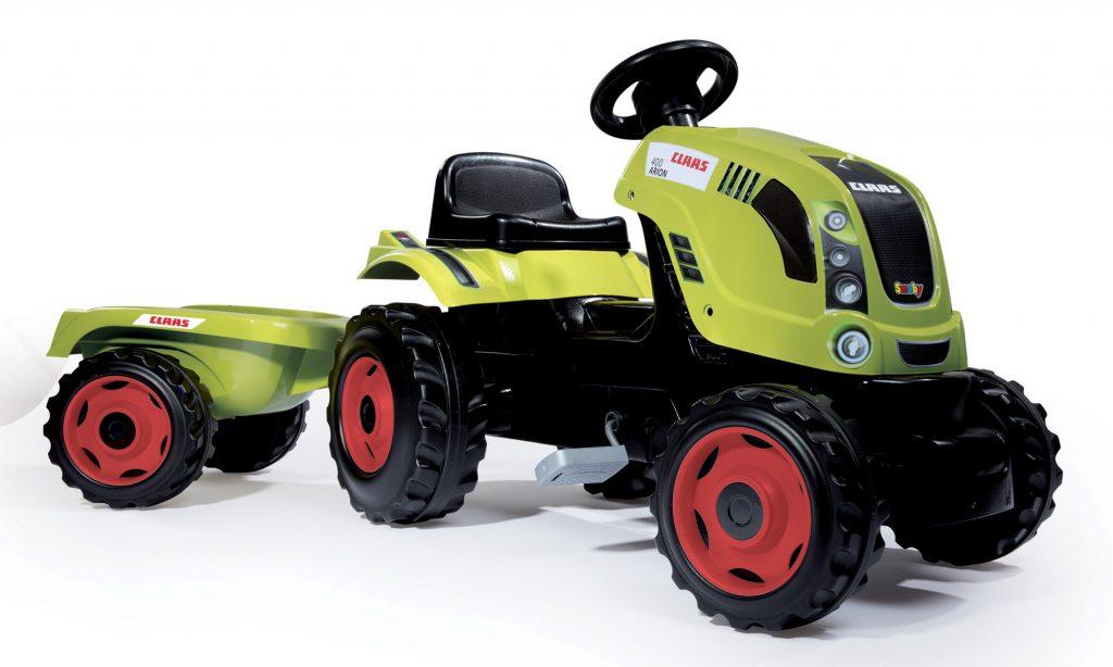 Smoby traktor pro děti s vlečkou