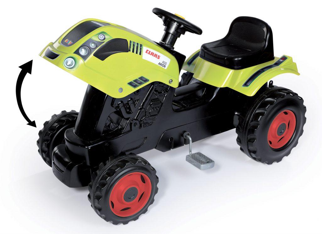 Traktor pro děti s pedály Smoby