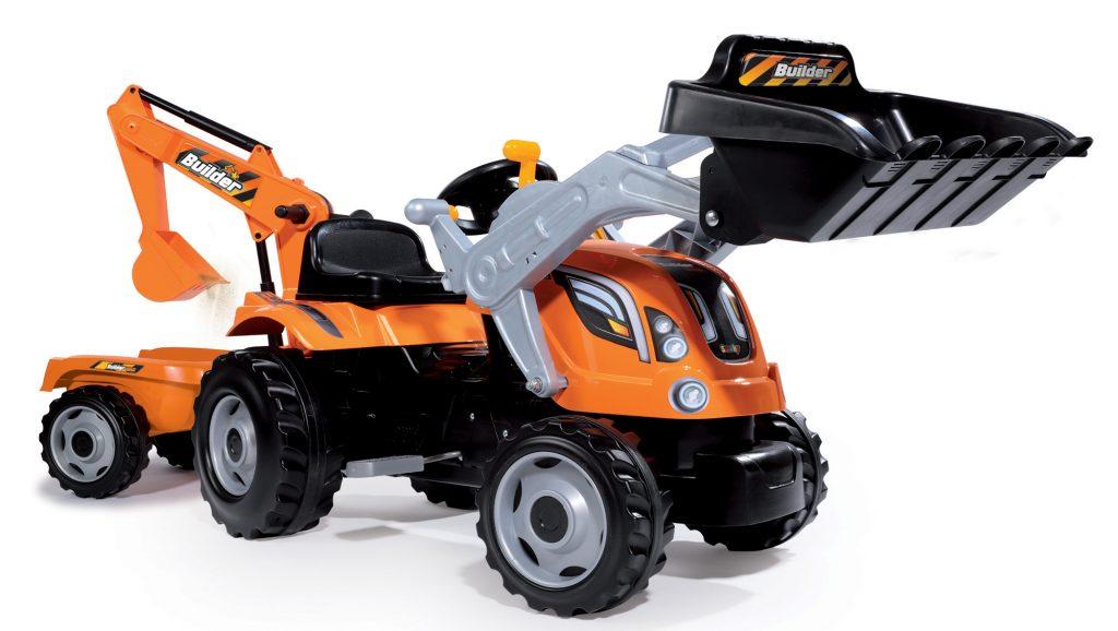 Šlapací traktor pro děti Smoby Max
