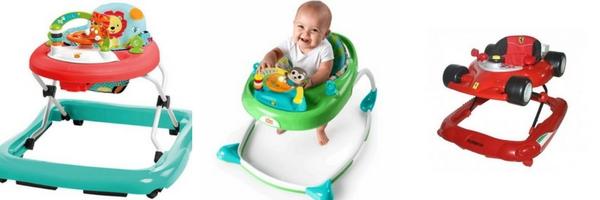 Klasické chodítko pro dítě se sedačkou