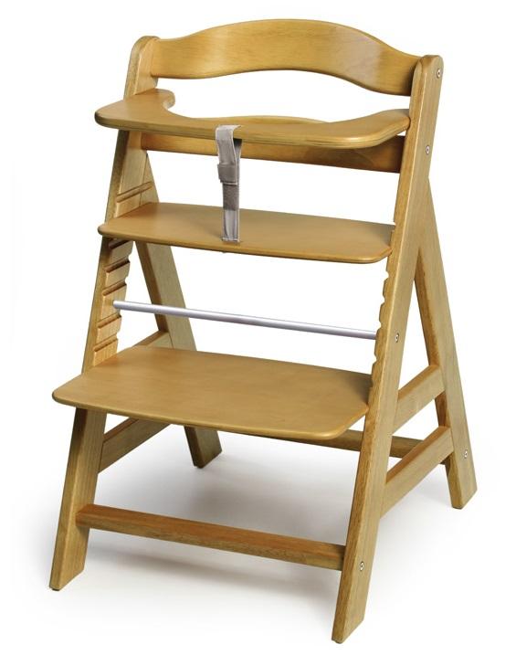 Dřevěná jídelní židlička pro díte