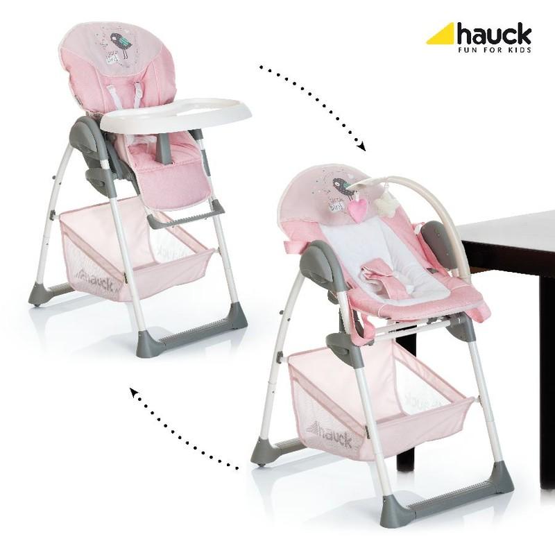 Multifunkční dětská jídelní židlička