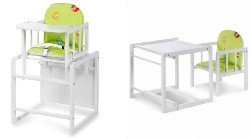Dětská jídelní židlička kombinovaná