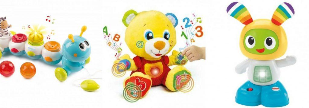 Interaktivní hračky pro nejmenší