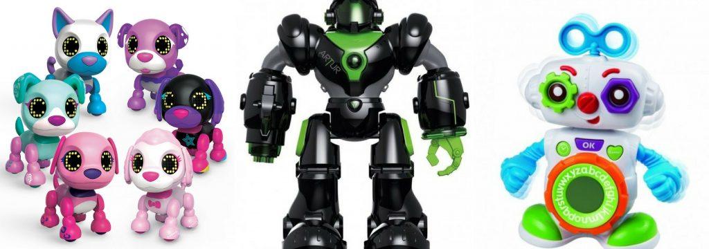 Interaktivní hračky roboti
