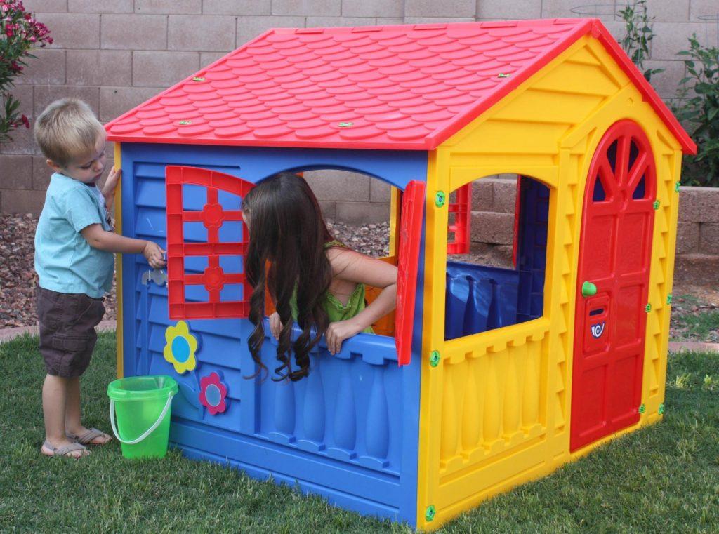 Velký dětský zahradní domek Happy house