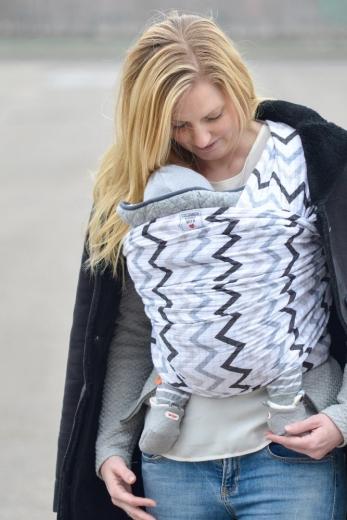 Jak nosit dítě v šátku