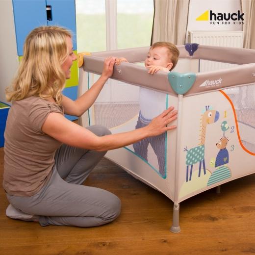 Klasická dětská ohrádka Hauck