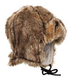Zimní čepice pro děti z kožešiny