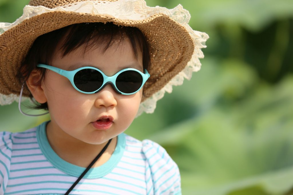 Letní čepice pro děti