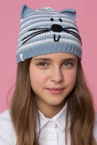 Teplá čepice pro děti