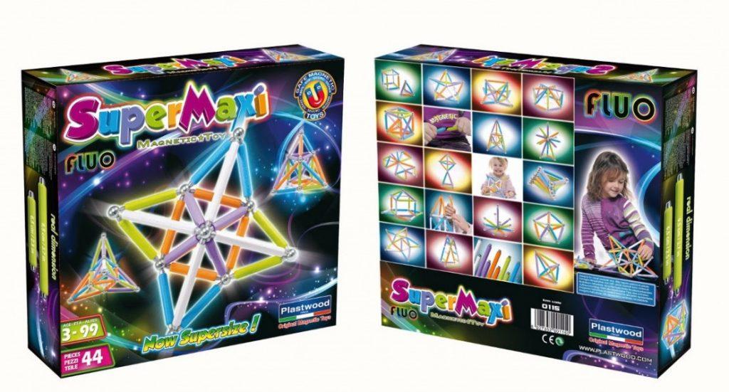 Supermag magnetická stevbnice pro děti