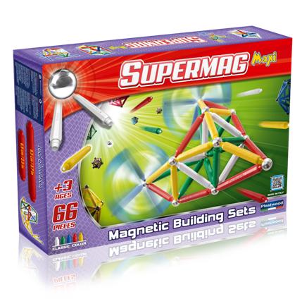 Supermag magnetické stavebnice pro nejmenší