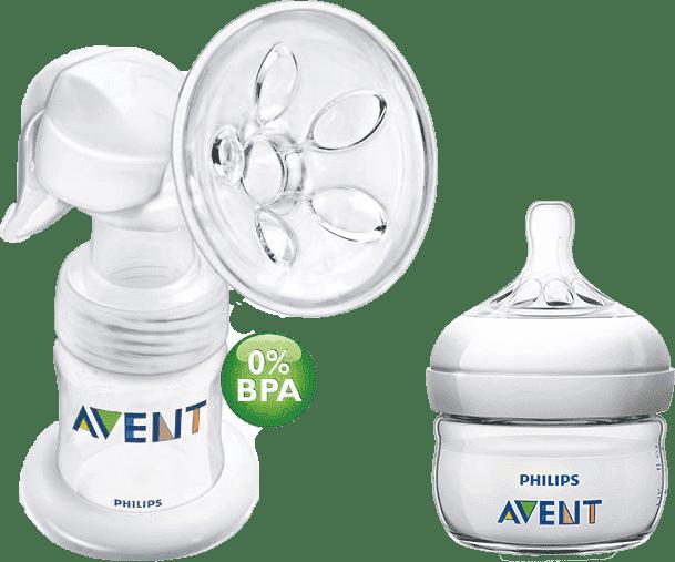 Manuální odsávačka mléka Avent Natural