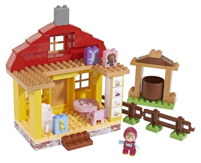 Big dětská stavebnice Máša a medvěd