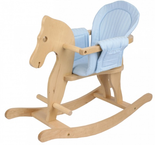 Dřevený houpací kůň houpací zvířatko Bayer