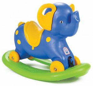 Platoví houpací zvířatko slon
