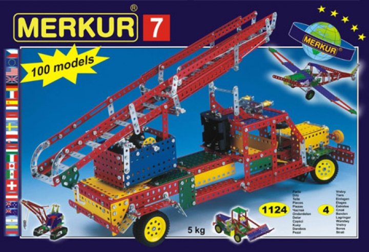 Merkur 7 stavebnice pro děti