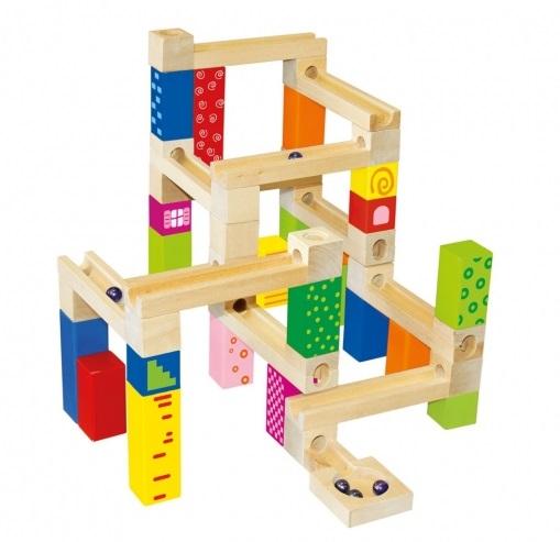 Dětská stavebnice kuličková dráha