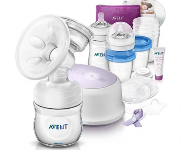 Philips Avent elektrická odsávačka mléka Natural